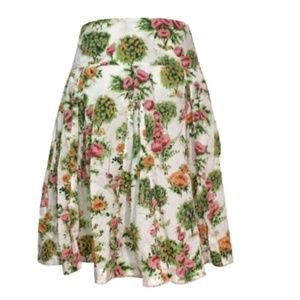 Anthropologie ODILLE Southern Charm skirt 4